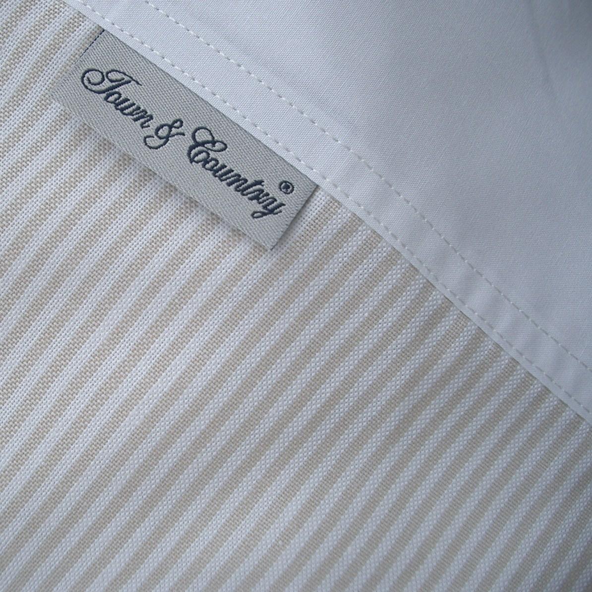 Oxford stripe beige (2)